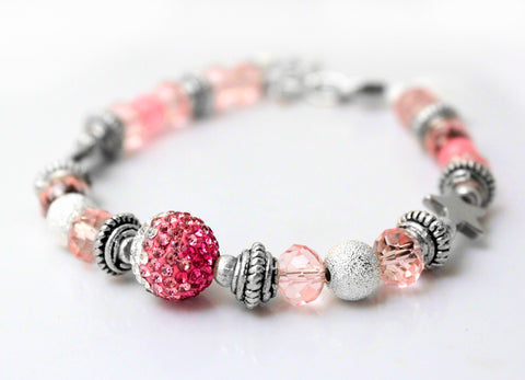 Boobie Bling Bracelet to benefit Breast Cancer Charity
