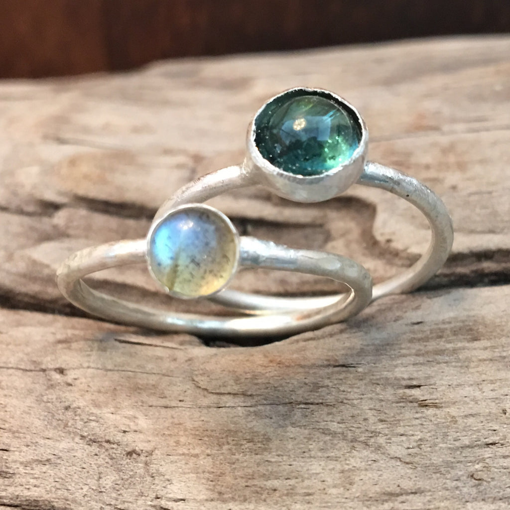 POSTPONED! Sterling Silver and Gemstone Ring Class:  Soldering & Bezel Setting Class: NEW DATE Tuesday, March 21 2017