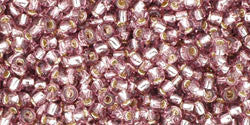 Round 11/0  Toho Glass Seed Bead Silver-Lined Lt Amethyst