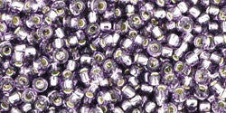 Round 11/0  Toho Glass Seed Bead Silver-Lined Tanzanite