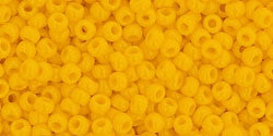 Round 11/0  Toho Glass Seed Bead Opaque Sunshine