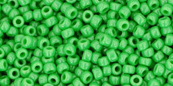 Round 11/0  Toho Glass Seed Bead Opaque Mint Green
