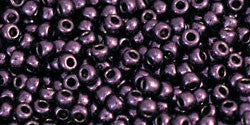 Round 11/0 Toho Glass Seed Bead Higher-Metallic Violet