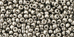 Round 11/0  Toho Glass Seed Bead Nickel