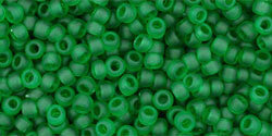 Round 11/0  Toho Glass Seed Bead Transparent-Frosted Grass G