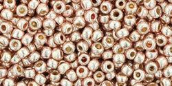 Round 11/0  Toho Glass Seed Bead Permanent Finish - Galvaniz