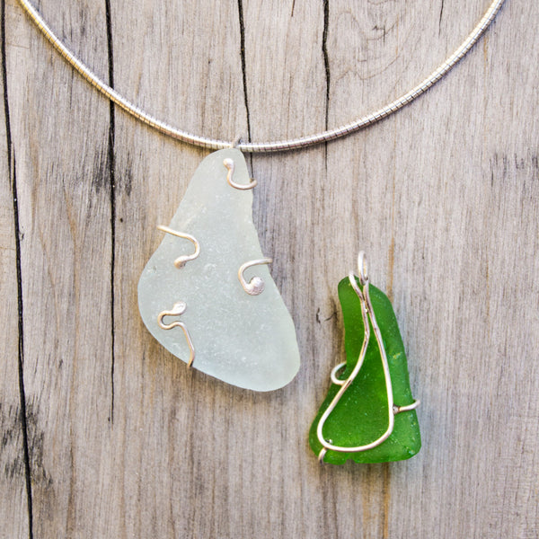 Silver Soldering Seaglass Prong Setting Class: Tuesday, April 20