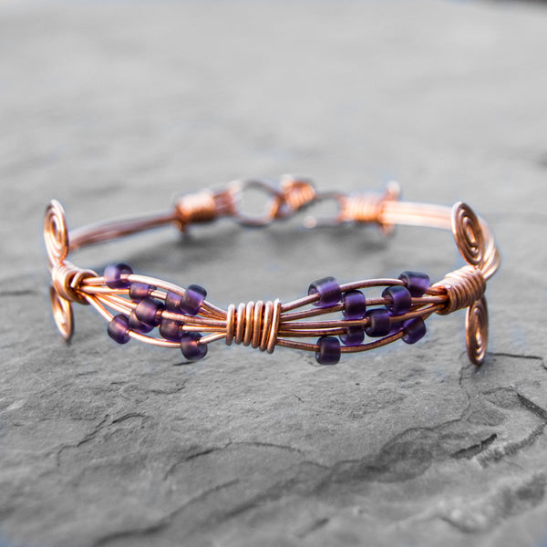 Beaded Empress Wire Wrapped Bracelet Class Thursday March 8 2017