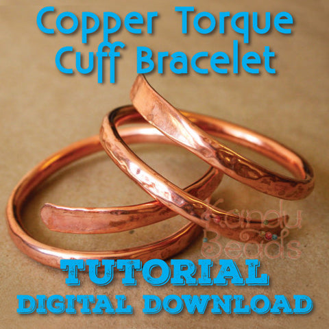 Copper Torque Bracelet Tutorial