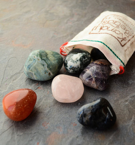 1/2 Pound Tumbled Stone Bag-