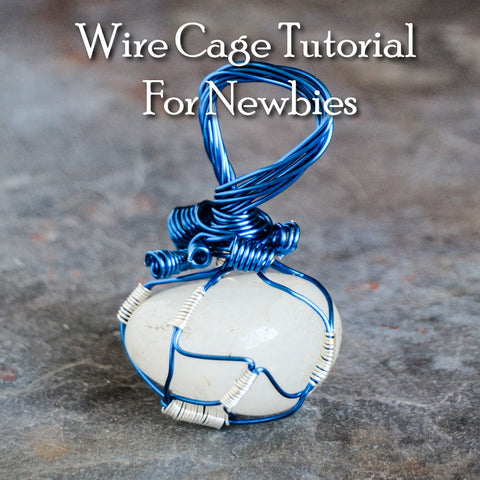 Wire Wrapped Lotus Cage Tutorial Digital Download