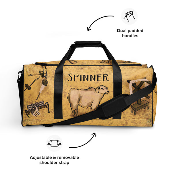 Spinner's Duffle bag