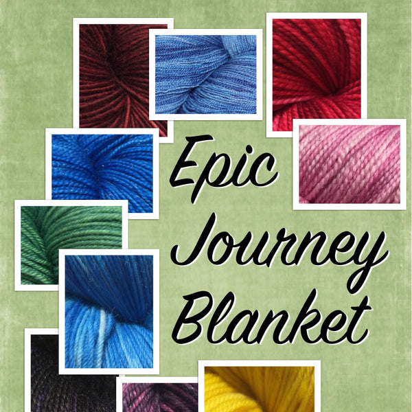 Epic Journey Blanket - Temperature Blanket