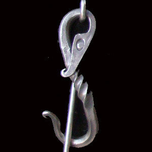 Stainless Steel Dragon Shawl Pin