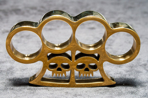 Slash and Burn Brass Knuckles