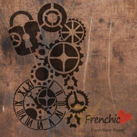 Rattaat - Steam Punk - Stencils - Frenchic Finland