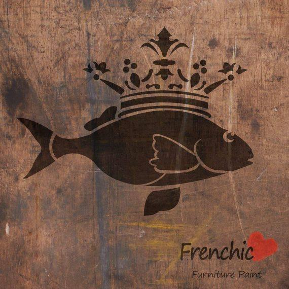 Kalaprinssi - The Fish Prince - Stencils - Frenchic Finland