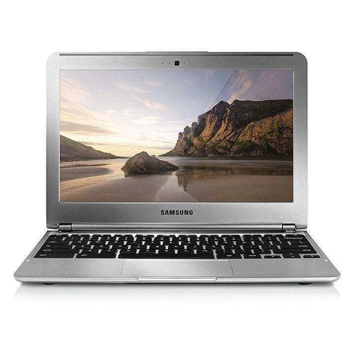 Refurbished Samsung Chromebook 11.6 Laptop 1.7GHz, 2GB Ram, 16GB SSD, Silver Webcam - XE303C12 (Scratches & Dents)