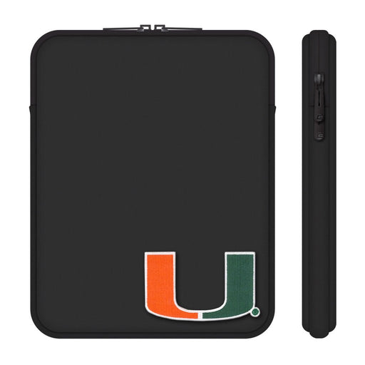 University of Miami Black Tablet Sleeve, Classic