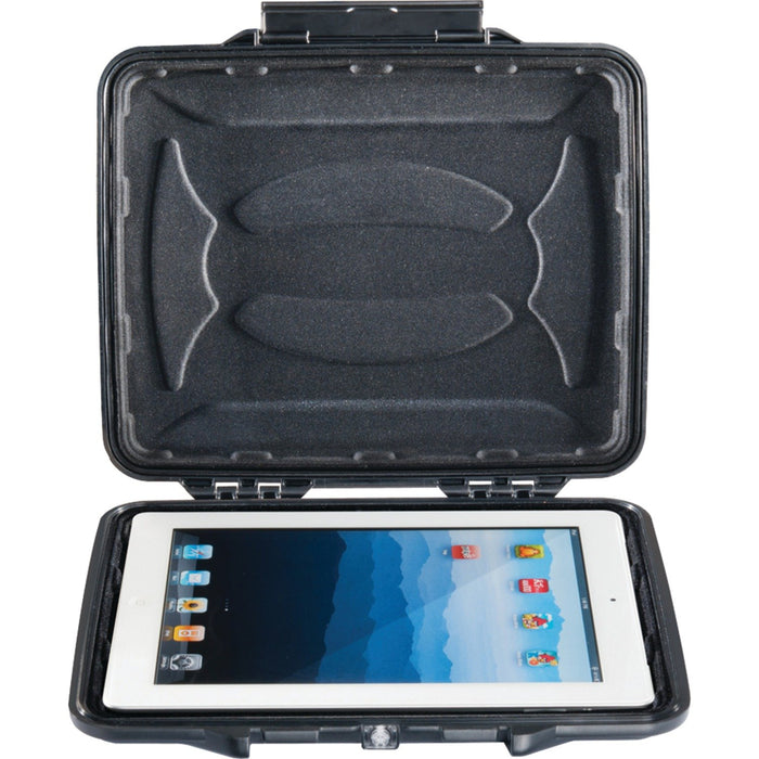 "Pelican 1065-003-110 Watertight HardBack Tablet & eReader Case with Padded Liner (1065CC; Fits tablets with up to 10"" screens)"