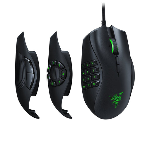 Razer Naga Trinity: True 16,000 5G Optical Sensor - 3 Interchangeable Side Plates