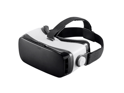 "MP VR Viewer Mobile 3D HMD with IPD Adjustment - Compatible with phones up to 6"" - White"