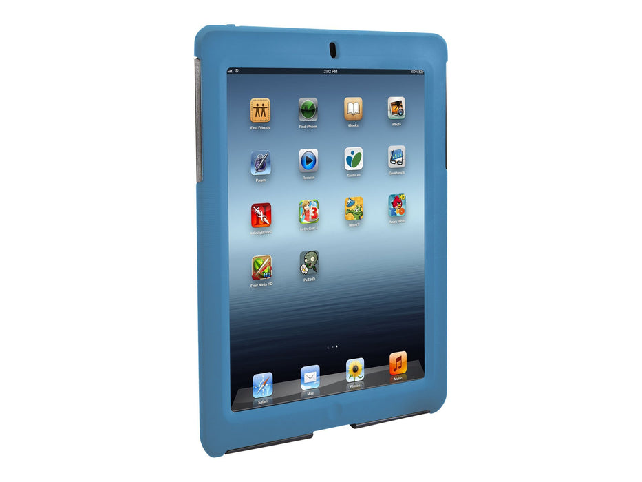 Targus SafePORT Rugged Case for iPad 2/3/4 - Blue