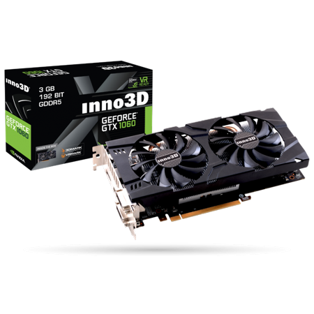 Inno3D Nvidia Geforce GTX 1060 3GB Gaming OC Video Graphics Card