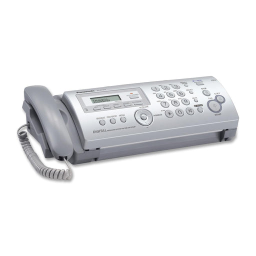Panasonic Plain Ppr Fax/Copier with Answering System, White