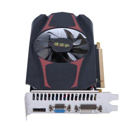 Professional HD7670 2G GDDR5 Graphics Card 128Bit PCI-Express Interface For Turks GPU Gaming Video Graphics Card