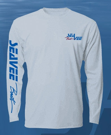 Ice Blue Denali Lead the Way Dry Fit Long Sleeve Shirt