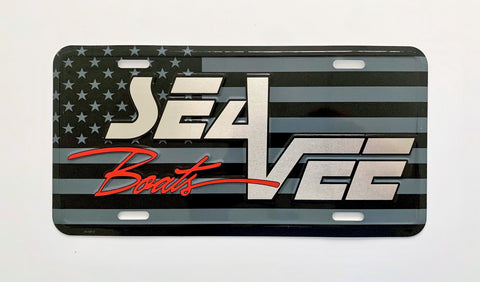 Sea Vee License Plate