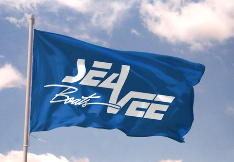 Sea Vee Logo Flag