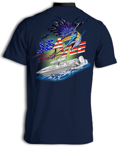 American Billfish Short Sleeve T-Shirt