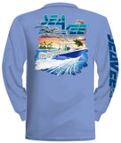 Tech Long Sleeve T-Shirt, BACK