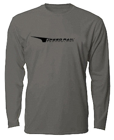 Smoke Denali Sea Vee Z Dry Fit Long Sleeve Shirt