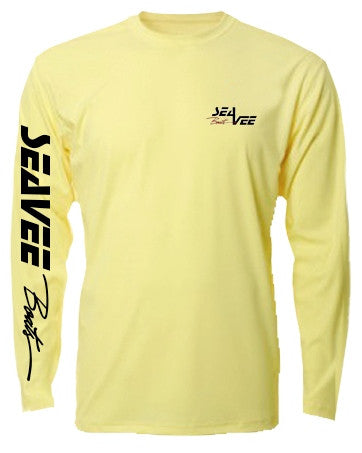 Fighting Lady Yellow Denali Lead the Way Dry Fit Long Sleeve Shirt