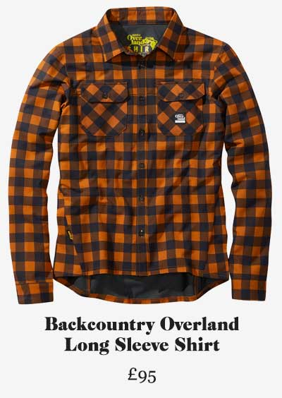 Backcountry Long Sleeve Cycling Shirt