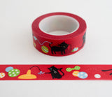 Playful Cats - Washi Tape