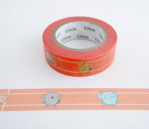 Race Day - Washi Tape