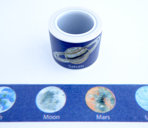 Space and Planets Washi Tape