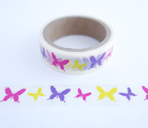 Bright Butterflies Washi Tape