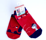 Red Elephants - Socks - Shinzi Katoh