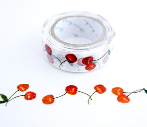 Cherries -  Shinzi Katoh Washi Tape