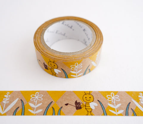 Tenderness Bee - Shinzi Katoh Kraft Tape