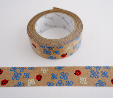 Ladybugs - Shinzi Katoh Kraft Tape