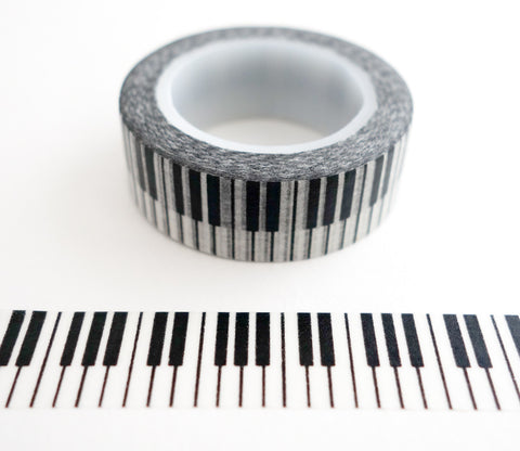 Piano Keys - Music Washi Tape