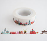 International Travel Landmarks - Washi Tape