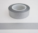 Solid Silver Washi Tape