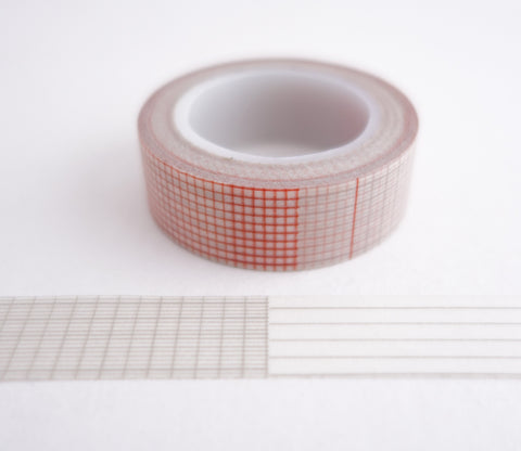 Paper Grid Patterns Washi Tape
